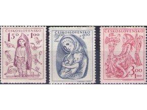 ČS 1948 / 0494-0496 / Deťom  **