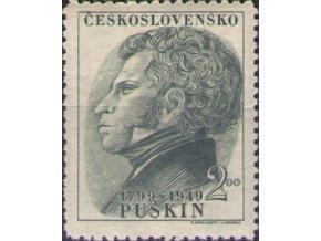 ČS 1949 / 0516 / A. Puškin  **