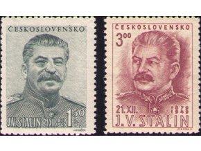 ČS 1949 / 0531-0532 / J. V. Stalin  **