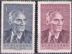 ČS 1950 / 0546-0547 / S. K. Neumann  **