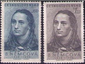 ČS 1950 / 0548-0549 / B. Nemcová  **