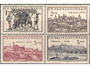 ČS 0558-0561 St Výstava Praga 1950