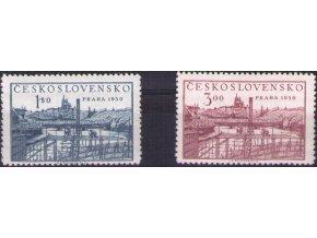 ČS 0562-0563 Výstava Praga 1950