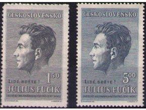ČS 1951 / 0573-0574 / J. Fučík **