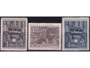 ČS 1951 / 0575-0577 / Ťažký priemysel **