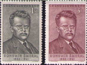ČS 0597-0598 B. Šmeral