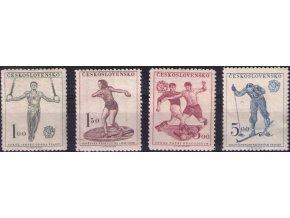 ČS 1951 / 0599-0602 / Šport **