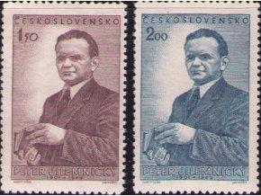 ČS 1951 / 0623-0624 / P. Jilemnický **
