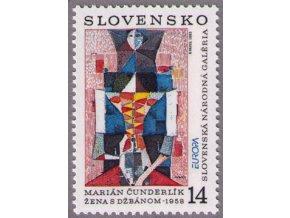SR 013 EUROPA - moderné umenie