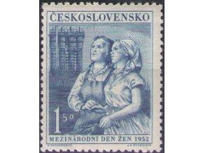 ČS 1952 / 0636 / MDŽ **
