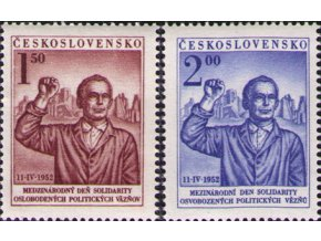 ČS 1952 / 0644-0645 / Deň solidarity **