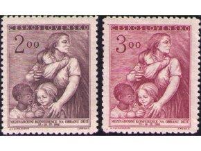 ČS 1952 / 0646-0647 / Konferencia na ochranu detí **