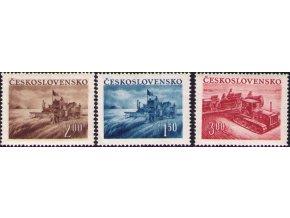 ČS 1952 / 0648-0650 / Poľnohospodárstvo **