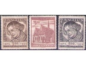 ČS 0667-0669 Majster Jan Hus
