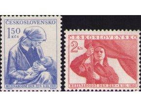 ČS 1953 / 0714-0715 / MDŽ **
