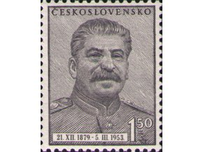ČS 1953 / 0716 / J. V. Stalin **