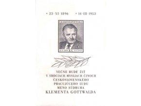 ČS 1953 / 0719 H / K. Gottwald **