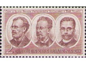 ČS 1953 / 0720 / Robotnícke hnutie **