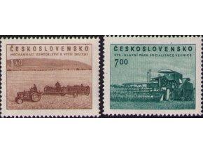 ČS 1953 / 0730-0731 / Poľnohospodárstvo **
