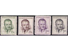 ČS 0732-0735 K. Gottwald