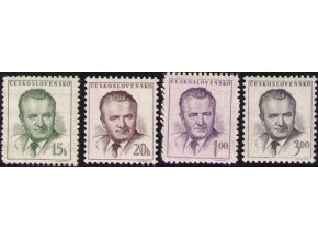 ČS 1953 / 0732-0735 / K. Gottwald **