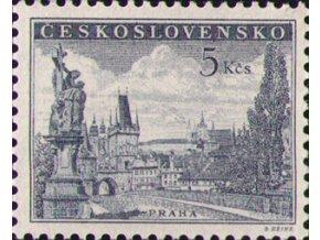 ČS 1953 / 0742 / Praha - Karlov most **