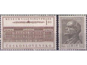ČS 1954 / 0768-0769 / V. I. Lenin **