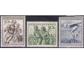 ČS 1954 / 0788-0790 / Šport **