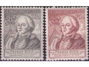 ČS 1954 / 0794-0795 / Prokop Diviš **