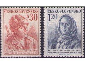 ČS 1954 / 0796-0797 / SNP **