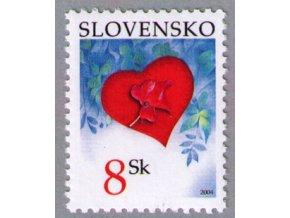 SR 2004 / 318 / Valentín - srdiečko