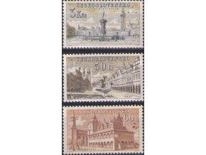 ČS 1954 / 0808-0810 / Mestá **