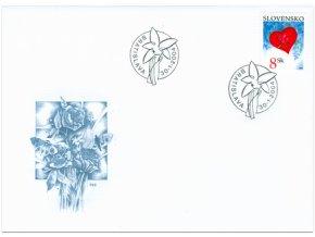 SR 2004 / 318 / Valentín - srdiečko  FDC