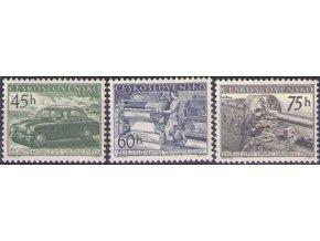 ČS 1955 / 0818-0820 / Čs. výrobky **