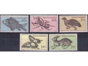 ČS 1955 / 0844-0848 / Fauna ***