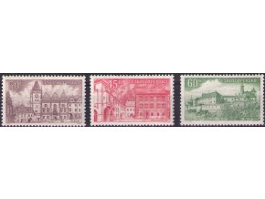 ČS 1955 / 0849-0851 / Mestá **