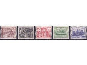 ČS 1956 / 0868-0872 / II. päťročný plán **