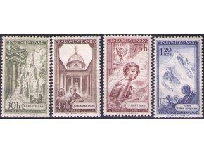ČS 1956 / 0873-0876 / Čs. kúpele **