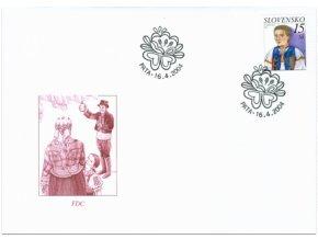 SR 2004 / 322-323 / Krásy našej vlasti / FDC (2)