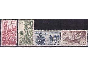 ČS 1956 / 0903-0906 / Bohatstvá zeme **