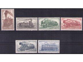 ČS 0907-0912 Lokomotívy