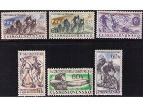 ČS 1957 / 0932-0937 / Šport **
