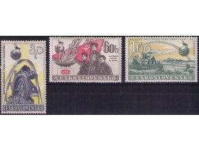 ČS 1958 / 0982-0984 / 10. výročie Februára **