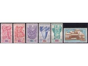 ČS 1958 / 0985-0990 / Svetová výstava EXPO **