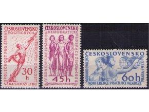 ČS 1958 / 0996-0998 / Politické udalosti **