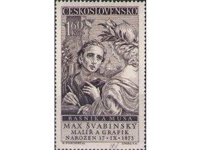 ČS 1958 / 1013 / Max Švabinský **