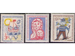 ČS 1023-1025 Detská kresba UNESCO