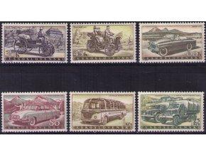 ČS 1958 / 1026-1031 / Výroba automobilov **