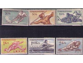ČS 1959 / 1033-1038 / Šport **