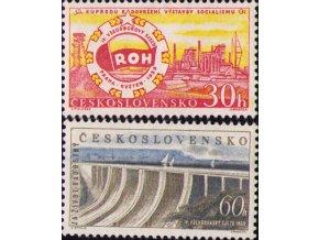 ČS 1959 / 1054-1055 / IV. všeodborový zjazd **